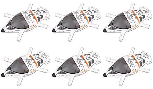 HobbyFlip 6 x Quantity of Walkera QR W100S 5.8Ghz FPV Quadcopter Upper Body Cover Shell Part # QR W100S-Z-08 by HobbyFlip
