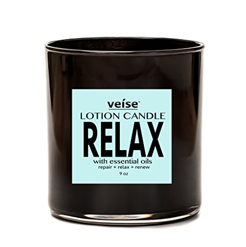 - Veise Beauty 2 in 1 Body Lotion Scented Luxury Aromatherapy Candles (Relax)