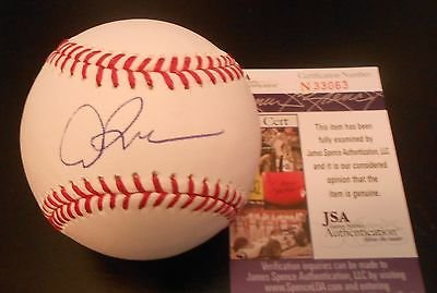 Alex Rodriguez Signed Official MLB Baseball w/JSA COA N33063 NY Yankees