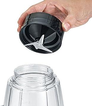 SEVERIN SM 3707 Batidora de vaso con recipiente extraíble, 600 W aproximadamente, 1,5 L, color negro: Amazon.es: Hogar