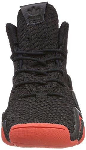adidas Crazy 8 ADV CK, Scarpe da Fitness Uomo Nero (Negbas / Roalre / Ftwbla 000)