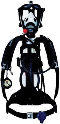 Honeywell 888888 Cougar 2216 psig Industrial Self Contained Breathing Apparatus With Alarm, Cylinder, Facepiece And 30 Minute Aluminum Cylinder (1/EA) by Honeywell