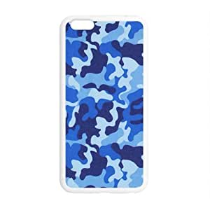Blue Disruptive pattern Phone Case for Iphone 6 by ruishername