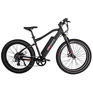 CIVI BIKES Predator Electric Bike, 26 Inch 48V 500W Brushless Fat Tire Sport Snow Electric Bicycle, 25MPH 40Miles Electric Mountain Bike 13Ah Battery Hardtail MTB Beach Cruiser