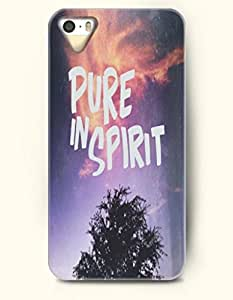 iPhone 5 / 5s Case Pure In Spirit - Trees - Hard Back Plastic Case - OOFIT Authentic