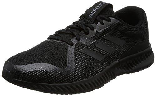 adidas Herren Aerobounce Racer M Laufschuhe Schwarz (Core Black/Core Black/Grey Five F17)