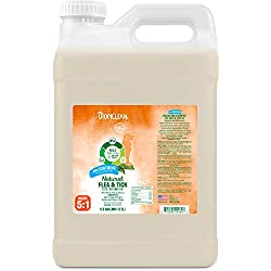 TropiClean Flea and Tick Soothing Shampoo for Dogs, 2.5 gal, Made in USA