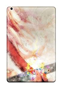 Hard Plastic Galaxy S4 Case Back Cover,hot Blue Neon Genesis Evangelion Instruments Guitars Plugsuit Bodysuits Asuka Langley Soryu Orangeguitarists Musical Notes Case At Perfect Diy