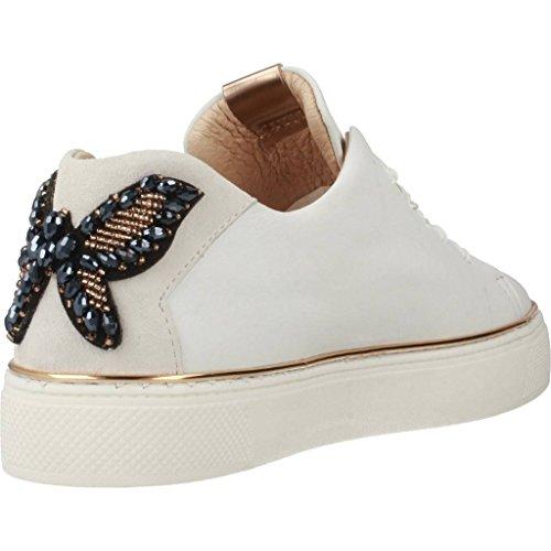 Mezza Scarpa Da Donna Alpina / Allacciata / Sneakers Blanco (bianca) 3579-0200 Bianca