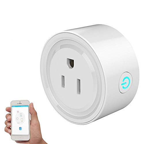 Smart Outlet Plug, Lightone Wifi Smart Plug Outlet US Plug No Hub Required Timing Funciton Works with Echo Alexa Remote Control Your electronics Anywhere for iPhone Samsung IOS Android devices