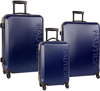 Nautica 3-Pc. Spinner Luggage Set