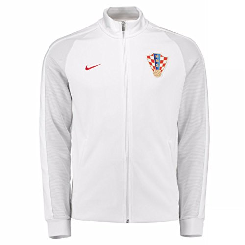 76c0678c15 Galleon - 2016-2017 Croatia Nike Authentic N98 Track Jacket (White)