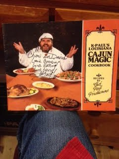 K-Pauls Louisiana Cajun Magic Cookbook - Receipts ()
