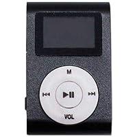 Mini Mp3 Player c Fone de Ouvido Preto