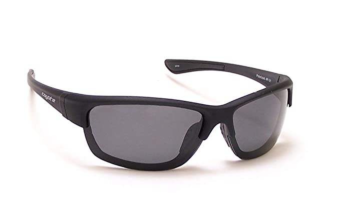 6bbeeee4f3c Amazon.com  Coyote Sunglasses - P-31   Frame  Matte Black Lens  Grey ...