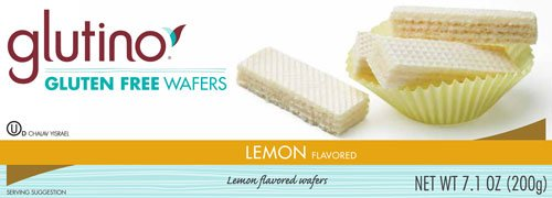 Glutino Gluten Free Wafers Lemon -- 7.1 oz (Pack of 2)