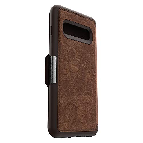 OtterBox STRADA SERIES Case for Galaxy S10 - Retail Packaging - ESPRESSO (DARK BROWN/WORN BROWN LEATHER) by OtterBox (Image #3)