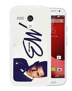 Host Sale Motorola Moto G Case ,Fashion And Durable Designed With Michael Buble White Motorola Moto G Cover