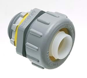 Arlington NMLT75-1 Straight Non-Metallic Liquid-Tight Connector, 3/4 Inch
