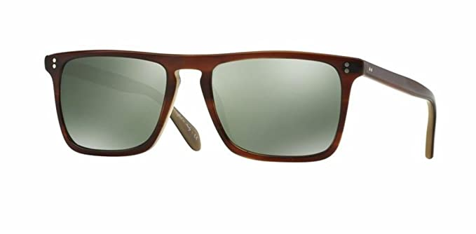 c67112e40f4 Image Unavailable. Image not available for. Color  Oliver Peoples - Bernardo  - 5189 1437O9 - 402 - G15 Goldtone Polar - Sunglasses