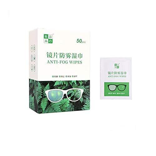 Anti-condens veegdoekjes voor glazen, wegwerp anti-condens spray voor bril/bril/scherm, anti-fog bril spray/water…