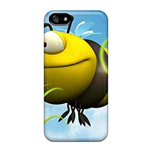 Anti-scratch And Shatterproof 3d Big Bee Phone Cases For Iphone 5/5s/ High Quality Cases