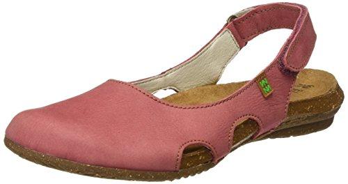Pink Closed Naturalista Sandals N413 Sandalo Toe WoMen El PqpUp