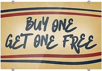 Nostalgia Stripes Premium Acrylic Sign 18x12 CGSignLab Buy One Get One Free 5-Pack
