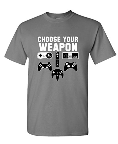 Choose Your Weapon game controllers Men's T-shirt