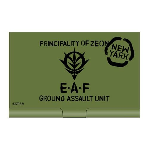 Card Case Mobile Suit Gundam Zeon Army Towards Earth[japan Imports] -