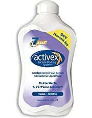 Activex Antibakteriyel Sıvı Sabun, Hassas, 1.5 lt