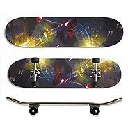 "Skateboard Stickers self-Adhesive Spiderman High wear Resistance 33""x 9&qu"