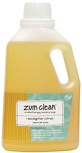 Zum Aromatherapy Laundry Soap, Eucalyptus Citrus, 64 Ounce