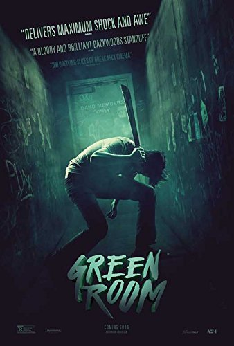 amazon com green room movie poster 11 x 17 style b unframed