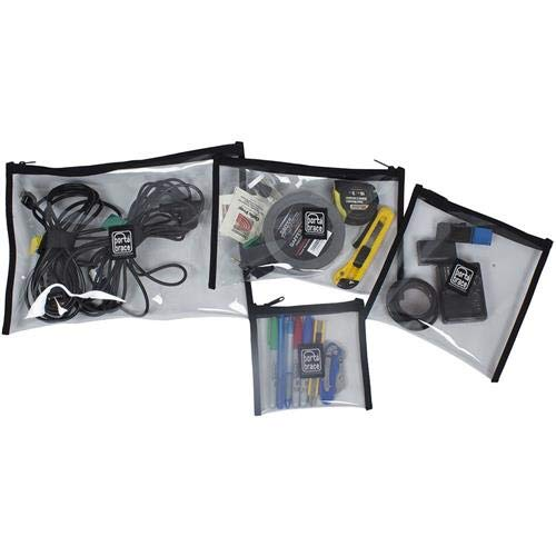 PortaBrace Set of Clear Equipment Pouch (Porta Brace)