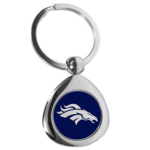 Siskiyou NFL Denver Broncos Round Teardrop Key Chain, ()