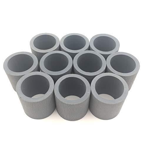 OKLILI 10PC X RM1-6313 RM1-6323 RM1-6414 RM1-3763 RM1-6467 Pickup Roller tire for HP 1320 3005 P3015 2035 2055 2727 M3027 3035 P3005 Pro 400 401 for Canon D1120 D1150 D1170 D1180 D1320 D1350 D1370