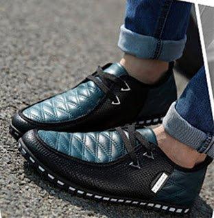 de Negocios de Hombres para Formal Cómodo Oxford Zapatos Cordones Verde Moderno Bebete5858 Vestir Cuero Zapatos de Clásicos Ocasionales de Formal PWxOPwqZag
