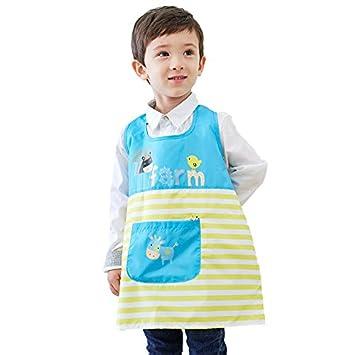 Malschürze Kinderschürze Bastelschürze Polyester