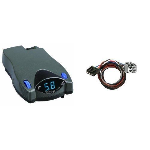 Tekonsha Engineering 90885 Prodigy Brake Control /& Tekonsha 3045-P 2-Plug Brake Control Wiring Adapter for Dodge//Jeep