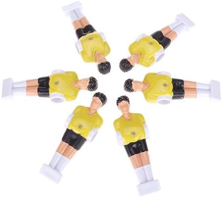 Baoblaze 22 Piezas de Muñecas de Reemplazo de Futbolín de Mesa ...