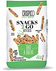 Crispico Little Snacks Snack 2 Go with Seeds, 50g - Pack of 1 4H38B