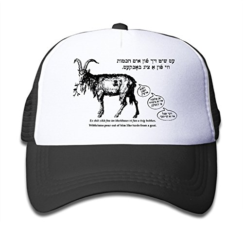 Big Girls' Baseball Hat Yiddish Witticisms Pour Out Of Him Like Turds From A Goat Adjustable Cool (Toy Story Girl Name)
