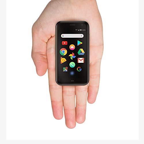 Palm Phone PVG100 (The Small Premium Unlocked Phone) with 32GB Memory and 12MP Camera (Titanium) (Renewed)