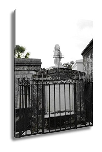 Ashley Canvas St Louis Catholic Cemetery New Orleans Louisiana USA, Kitchen Bedroom Living Room Art, Color 30x24, AG6544561 by Ashley Canvas