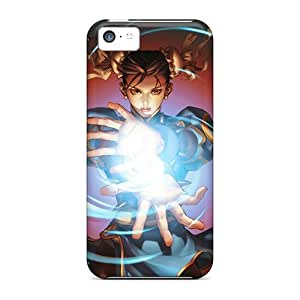 Fashion Design Hard Case Cover/ PukCvey8508bhRcd Protector For Iphone 5c
