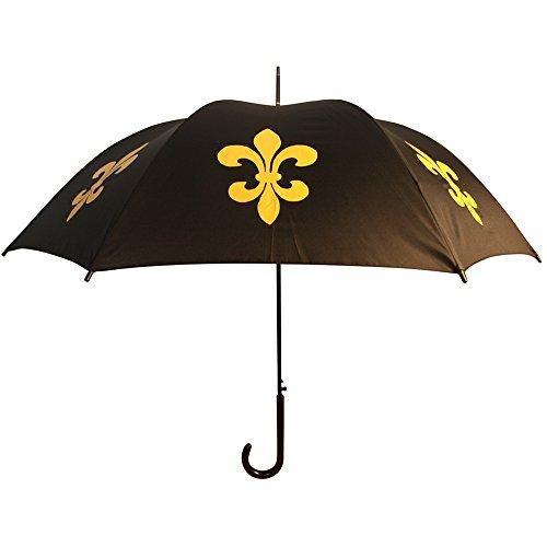 San Francisco Umbrella Co, Black/Gold Fleur de Lis Umbrella