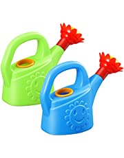 STOBOK Watering Cans for Kid, Flowers Watering Kettle Toy Chickens Cartoon Water Spray Can Bathing Educational Toy for Boys Girls Garden Home