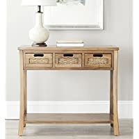 Safavieh American Homes Collection Autumn Oak 3-Drawer Console Table