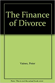 Book The Finance of Divorce